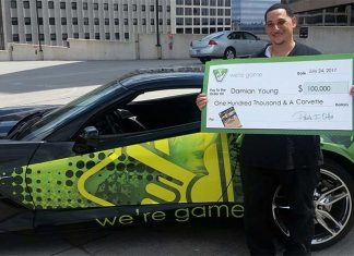 Lottery Ticket Nets a Virginia Man a New Corvette and $100,000 Cash