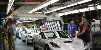Final Corvette Rolls Off the Old Assembly Line as Retooling Begins
