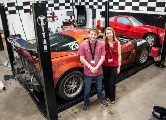 19-Year-Old Cancer Patient Helps With Engine Swap at the National Corvette Museum