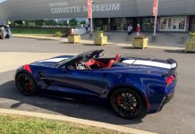 Corvette Museum Offers Laps at the NCM Motorsports Park as Part of R8C Museum Delivery