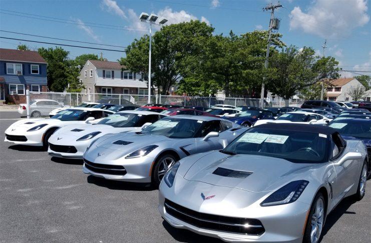July 2017 Corvette Sales