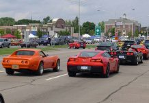 Agenda set for Corvettes on Woodward 2017