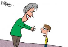 Saturday Morning Corvette Comic: Grandmas are the Best!