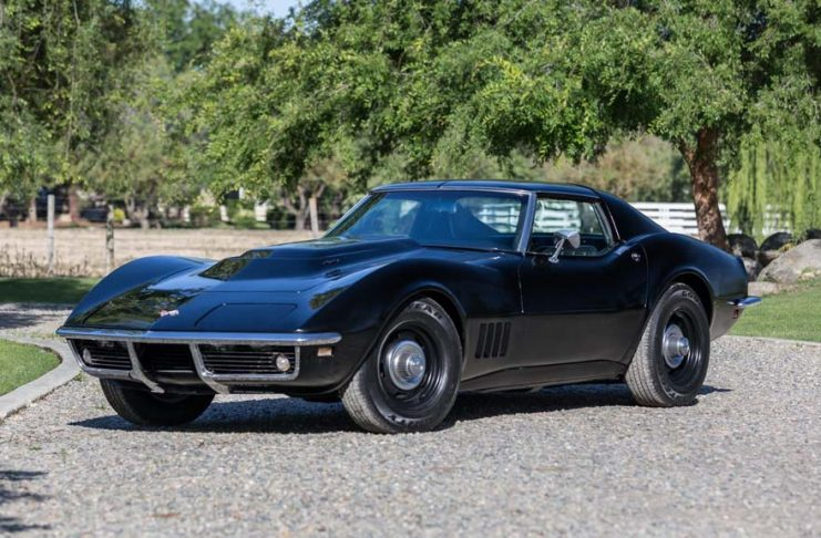 Black 1968 Corvette 427/435 to be Offered at Mecum's Monterey Auction