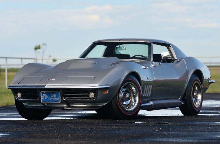 Cortez Silver 1969 Corvette L88 Coupe is Mecum's Main Attraction at Dallas