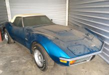 How Low Can You Go? 1972 Corvette ZR1 Convertible with just 967 Miles