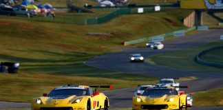 Corvette Racing at Monterey: Points the Name of the Game