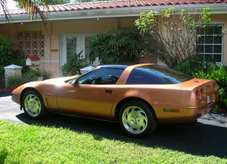Corvettes on Craigslist: Rare Copper Metallic 1994 Corvette Coupe