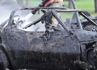 Two Corvettes Torched in Iowa Garage Fire