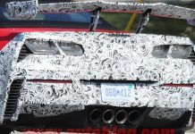 SPIED: 2018 Corvette ZR1 Convertible Spotted with Big Wing for the First Time