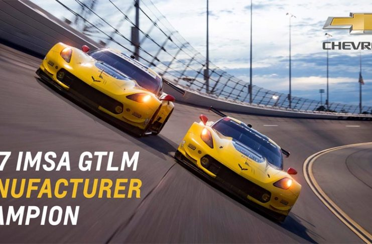 Chevrolet Earns Second Consecutive IMSA GT Le Mans Manufacturer Title