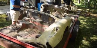 [VIDEO] Parts and Pieces of Two Early Corvettes Pulled from Multiple Barns