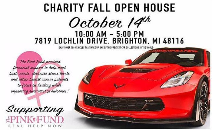 The Lingenfelter Collection Charity Fall Open House is Saturday, October 14th