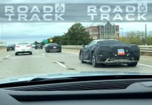 Road and Track Has Video of C8 Mid Engine Corvettes Driving Down Highway