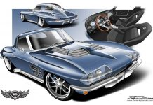Heartland Customs to Reveal a Custom 1963 Corvette Grand Sport 6 at SEMA
