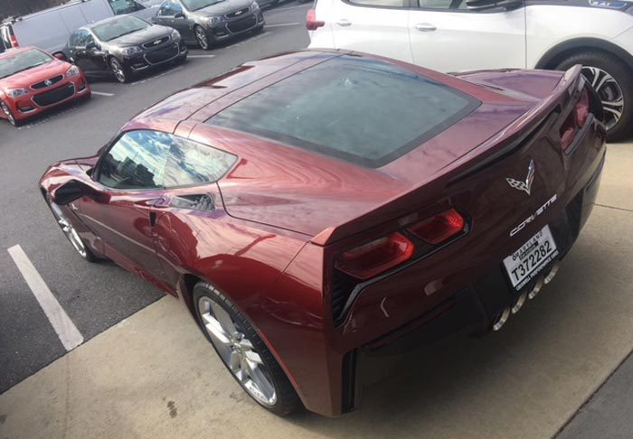 Corvette Delivery Dispatch with National Corvette Seller Mike Furman for Nov. 5th