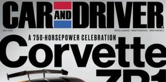 [PIC] The 750-hp Corvette ZR1 Makes the Cover of Car and Driver
