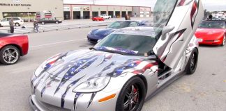 [VIDEO] National Corvette Museum Celebrates Veterans with Vets and Vettes