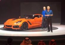 [VIDEO] Watch Tadge Juechter's Corvette ZR1 Presentation at Dubai