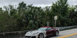 [SPIED] 2019 Corvette ZR1 Convertible Spotted Testing in South Florida