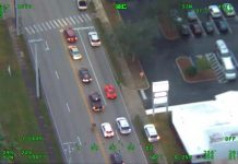 [VIDEO] Corvette Driver Escapes from Police as High-Speed Chase is Captured by a Helicopter