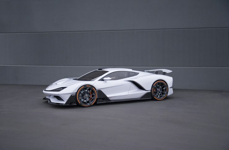 Aria Group Shows Off New Aria FXE Mid-Engine Sports Car at LA Auto Show