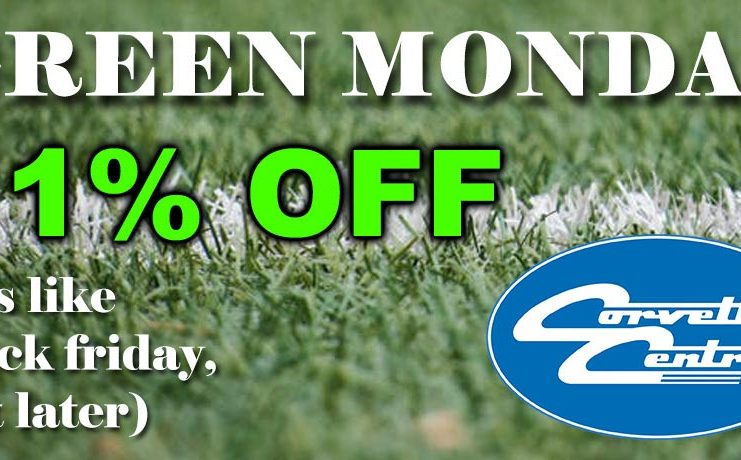 11% OFF Corvette Central Coupon Code For Green Monday