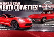 Get Your Tickets for the 2017 Corvette Dream Giveaway