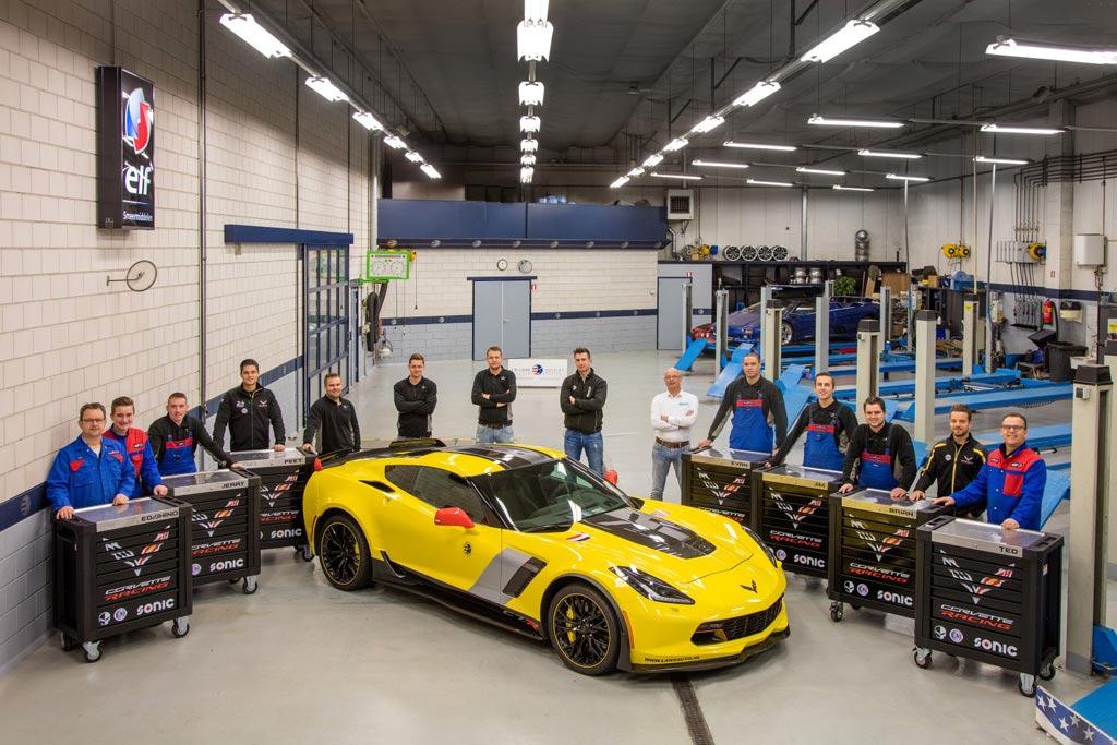 PICS] European Shop with a Passion for Corvettes Gets Seven SONIC