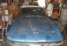 Corvettes on eBay: Unrestored 1965 Corvette Coupe with 327/365-hp L76 V8