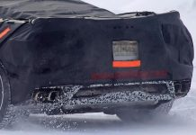 [SPIED] Mid Engine C8 Corvette Undergoes Cold Weather Testing
