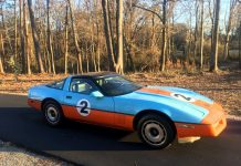 Corvettes on Craigslist: 1984 Corvette with Gulf Oil Livery