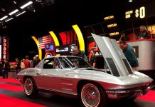 [VIDEO] Two Rare Corvettes in the Staging Lanes at Mecum Kissimmee 2018