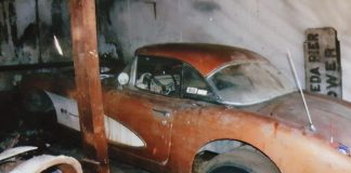 Corvettes on eBay: 1957 Fuelie Corvette Barn Find