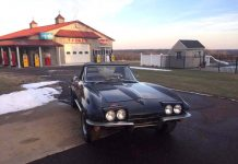 Corvettes on eBay: 1965 Corvette Convertible Parked Since 1984