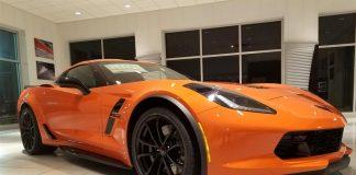 January 2018 Corvette Sales