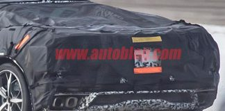 [SPIED] The Mid-Engine C8 Corvette Testing with Even Skimpier Camouflage