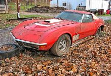Barn Find! 1971 LS6 Corvette Coupe