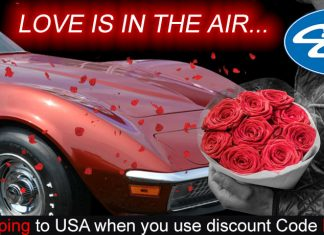 Love Is In The Air With Free Shipping from Corvette Central