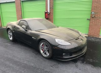 Corvettes on eBay: Abandoned 720-Mile 2009 Corvette Z06 Found in Storage Unit