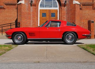 Win This 1967 Corvette in St.Bernard Church's Classic Corvette Giveaway!