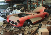 [VIDEO] Ridiculous 1957 Corvette Barn Find