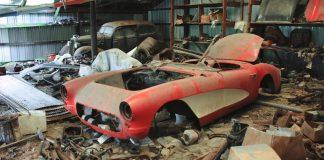 [VIDEO] Ridiculous 1957 Corvette Barn Find