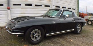 Corvettes on eBay: 1965 Corvette Survivor with 396/425-hp L78 V8