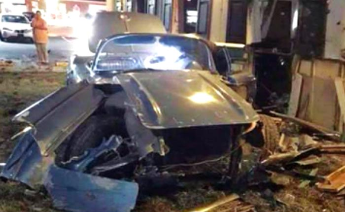 Man Who Crashed Classic Corvette into a Pizza Shop and Fled is Found Dead