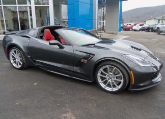 Elkland Chevrolet Offering the First Production 2019 VIN 001 Corvette Grand Sport Convertible