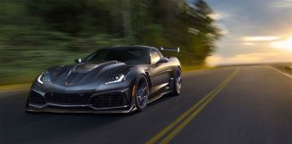 The 2019 Corvette Configurator For All Models Including the Corvette ZR1 is Now Online