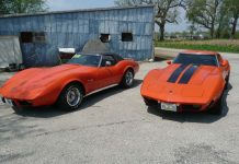 Corvettes on eBay: Seeing Orange with this Pair of 1975 Corvettes