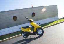 Corvette Museum Adds a Corvette Racing Paddock Scooter to its Racing Collection