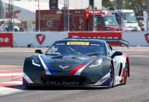 Callaway Competition Celebrates Podium Finish in Corvette C7 GT3-R Debut
